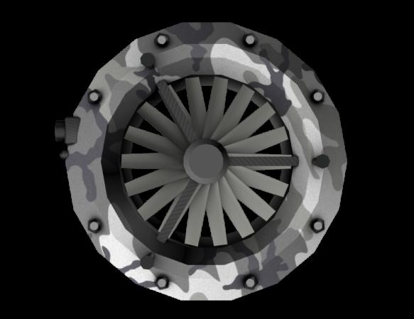 Aerial drone underbody